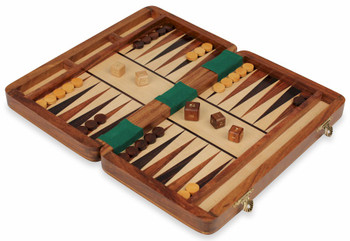 Magnetic Travel Backgammon Set - 10""