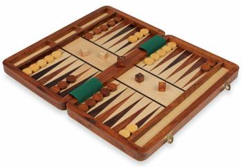 "Magnetic Travel Backgammon Set - 12"""