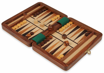 Magnetic Travel Backgammon Set - 8""