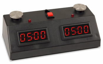 ZMF-II Chess Clock - Black with Red LED