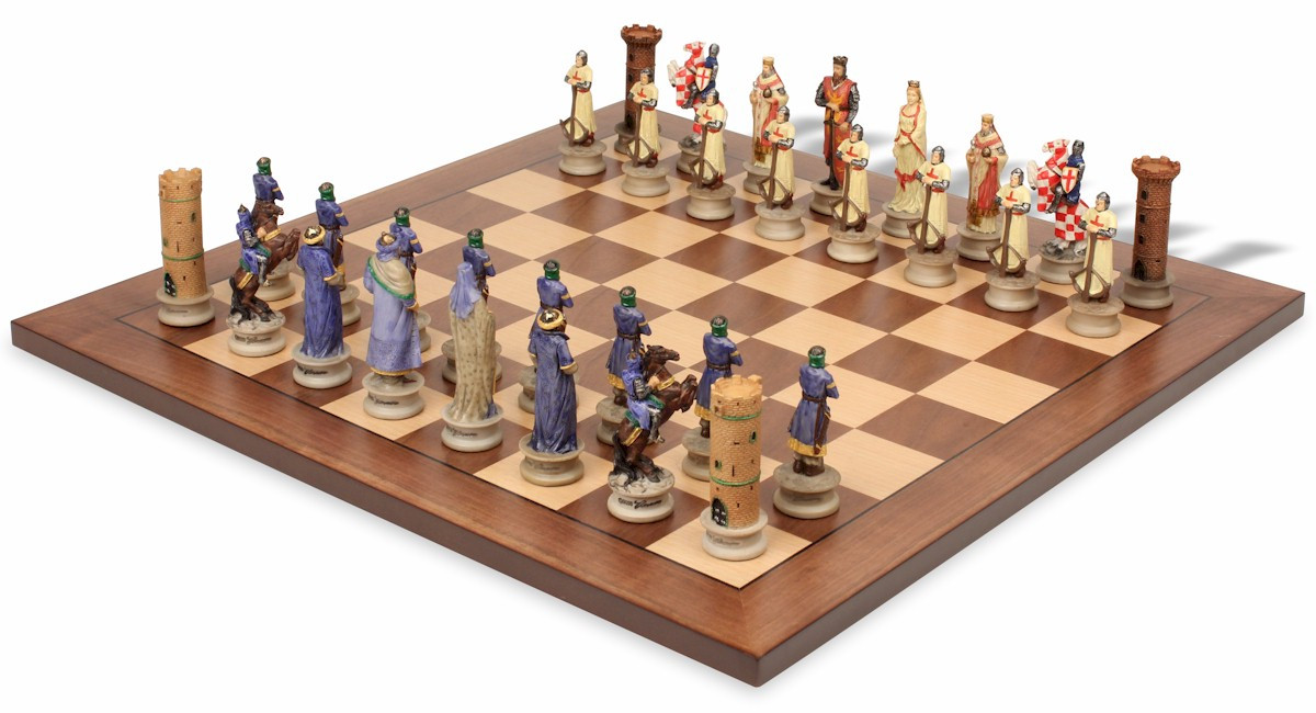 The Crusades Iii Theme Chess Set Package The Chess Store