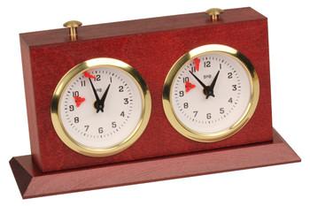 Bhb Tiltback Tournament Chess Clock - Mahogany