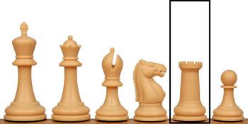 Zukert Plastic Chess Set Single Rook - Camel