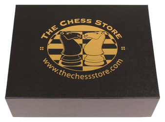 The Chess Store 2 Compartment Loose-Piece Chess Box - Large