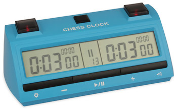 DT25 Digital Chess Clock - Blue