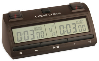 DT25 Digital Chess Clock - Brown
