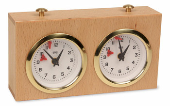 BHB Exklusiv Chess Clock - Natural
