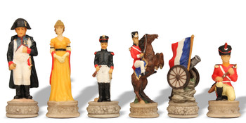 Battle of Waterloo Theme Chess Set