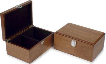 "Walnut Chess Box - 2 3/4"""