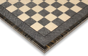Gray & Erable Chess Board with Variegated Frame - 2.375""
