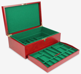 The Chess Store Deluxe Chess Coffer - Large (club size sets)