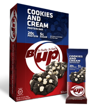 BOX - B-Up Cookies and Cream - 12 Count