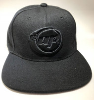 Black Snap Back Hat