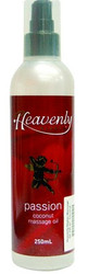 Heavenly Nights Massage Oil Coconut - Passion 250mL