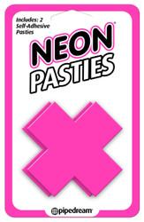 Neon X Pastie - Pink