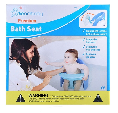 Dreambaby Premium Bath Seat Blue