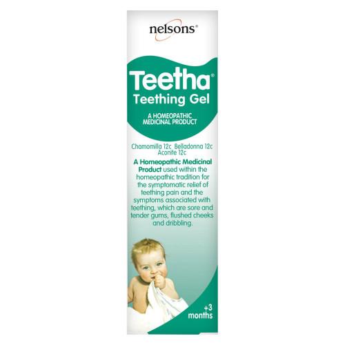 Nelsons Teetha Teething Gel - 15g