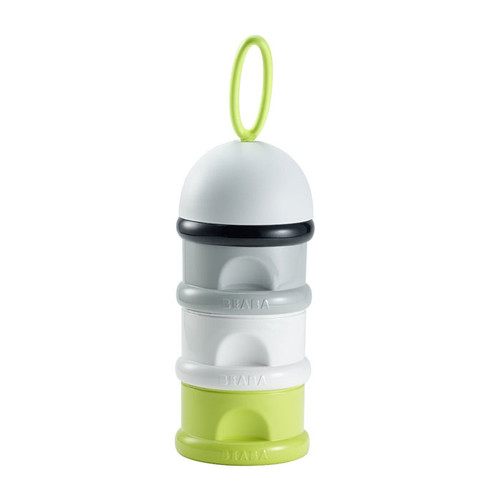 Beaba Stacked Formula Milk/Snack Dispenser - Neon