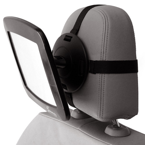 Dreambaby® Adjustable Back Seat Mirror in use