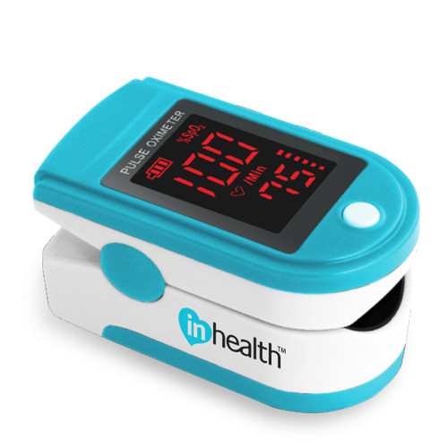 InHealth Finger Pulse Oximeter - Bargraph Display