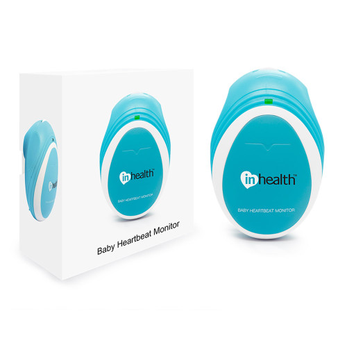 InHealth Fetal Doppler - Pocket Size with box
