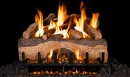 Realfyre Mountain Crest Split Oak Gas Logs with G31 3-Tiered Burner System