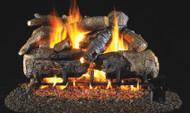 Realfyre Charred American Oak with G4 (Glowing Ember) Burner Vented Gas Logs
