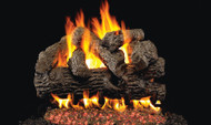 Realfyre GX4 Vented Gas Glowing Ember Burner System (with Heavy Duty Grate) with Standard Log Set - Classic Series
