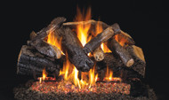 Realfyre G45 ANSI Certified Burner System w/ Charred Series Standard Gas Log Sets