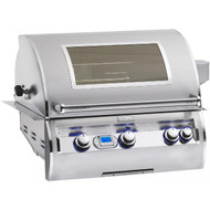 Firemagic Echelon Diamond E660i Built-In Grill with Digital Thermometer and Magic View Window and Left Side Infrared Burner