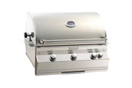 Firemagic Aurora 540i Grill Analog Style Built-In Grills with Backburner & Rotisserie Kit and Left Side Infrared Burner