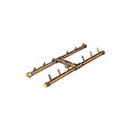 CROSSFIRE™ CFBH120 H-STYLE Brass Burner