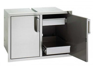 Firemagic Premium Flush Mounted 20 x 30 Double Access Doors and Two Dual Drawers with Soft Close System - 53930SC-22