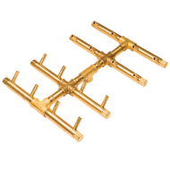 CROSSFIRE™ CFBDT160 Double Tree-Style Brass Burner
