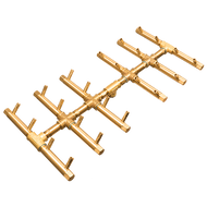 CROSSFIRE™ CFBDT240 Double Tree-Style Brass Burner