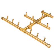 CROSSFIRE™ CFBTRI140 Triangular Brass Burner