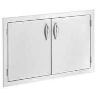 "Summerset 30"" Double Door - Stainless Steel - SSDD-30"