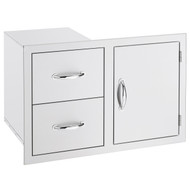 Summerset Door/2-Drawer Combo - Storage Drawers - SSDC