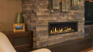 """Majestic Echelon II 36"""" Direct Vent Gas Fireplace with IntelliFire Plus Ignition System (NG)"""