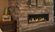 """Majestic Echelon II 60"""" Direct Vent Gas Fireplace with IntelliFire Plus Ignition System (NG)"""