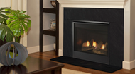 """Majestic Mercury 32"""" Direct Vent Gas Fireplace with Intellifire"""