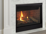"""Majestic Meridian 36"""" Top/Rear Direct Vent Unit with Intellifire Touch Ignition"""