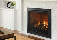 """Majestic Meridian Platinum 36"""" Top/Rear Direct Vent Unit with Intellifire Touch Ignition"""