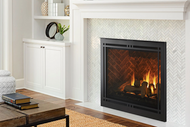 """Majestic Meridian Platinum 42"""" Top/Rear Direct Vent Unit with Intellifire Touch Ignition"""