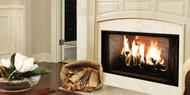 """Majestic Royalton 42"""" Radiant Wood Burning Fireplace"""
