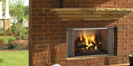 """Majestic Villawood 36"""" Outdoor Wood Fireplace"""