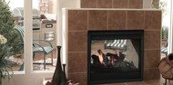 Majestic Twilight II Indoor/outdoor fireplace with IntelliFire Ignition (NG)