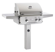 "AOG 24"" L-Series In-Ground Post BBQ - Primary Cooking Surface 432 sq. inches"