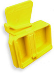 Arredondo AR-15 Mag Well Safety Plug, Yellow