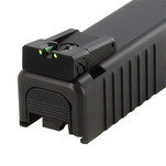 Dawson Precision Glock Adjustable Fiber Optic Rear Sights
